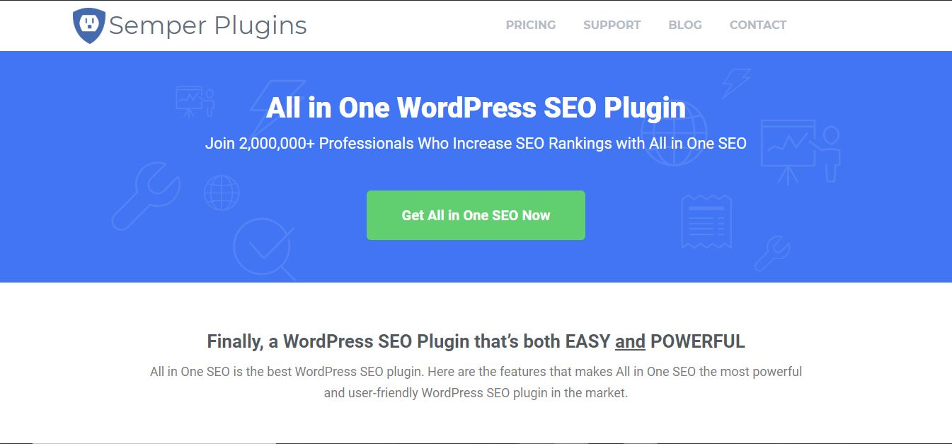 All in One SEO WordPress Plugins