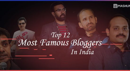 top bloggers in india