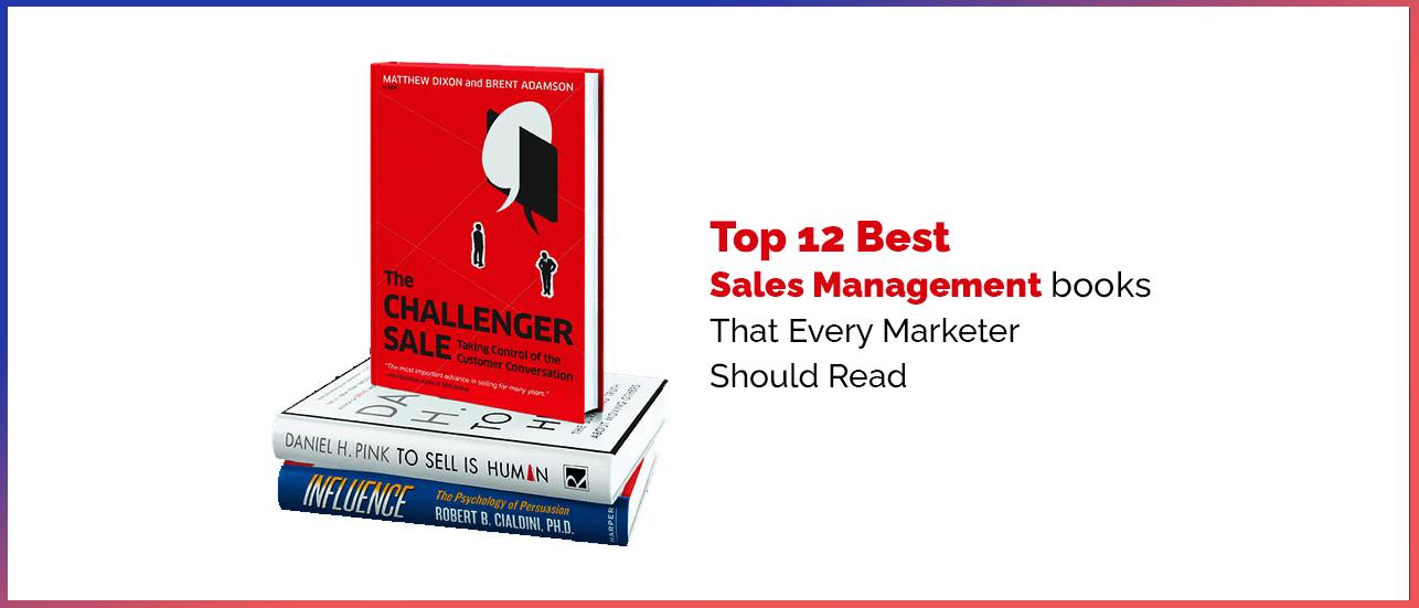 best sales management books